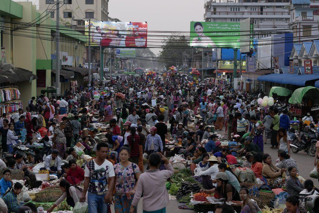 Myitkyina central Market