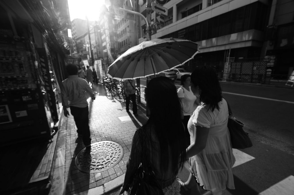 Kachin Refugees stroll Tokyo on a Sunday afternoon after Church