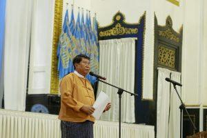 mayor of yangon Maung Maung Soe