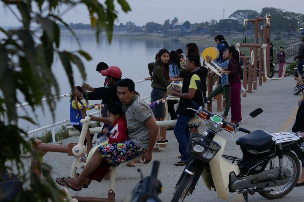 Myitkyina irrawaddy riverside
